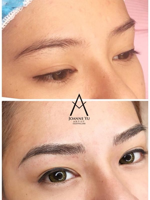 Eyebrow Embroidery - Microblading Hyperrealistic, Shading, Ombre 2